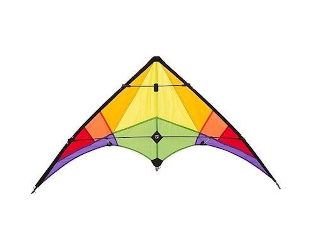 """HQ Kites 10216230 Econoline Stunt Kite """"Rookie"""" Rainbow"""