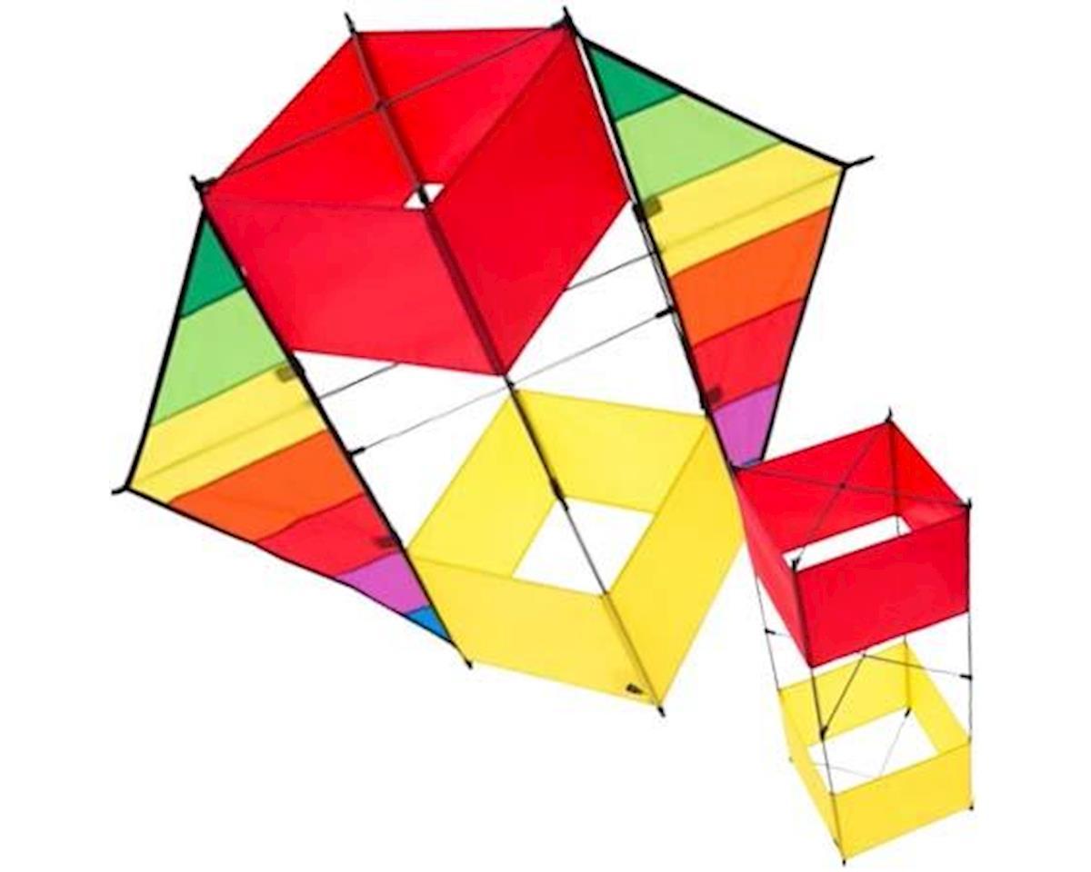 HQK F-Box Beach Rainbow Box Kite