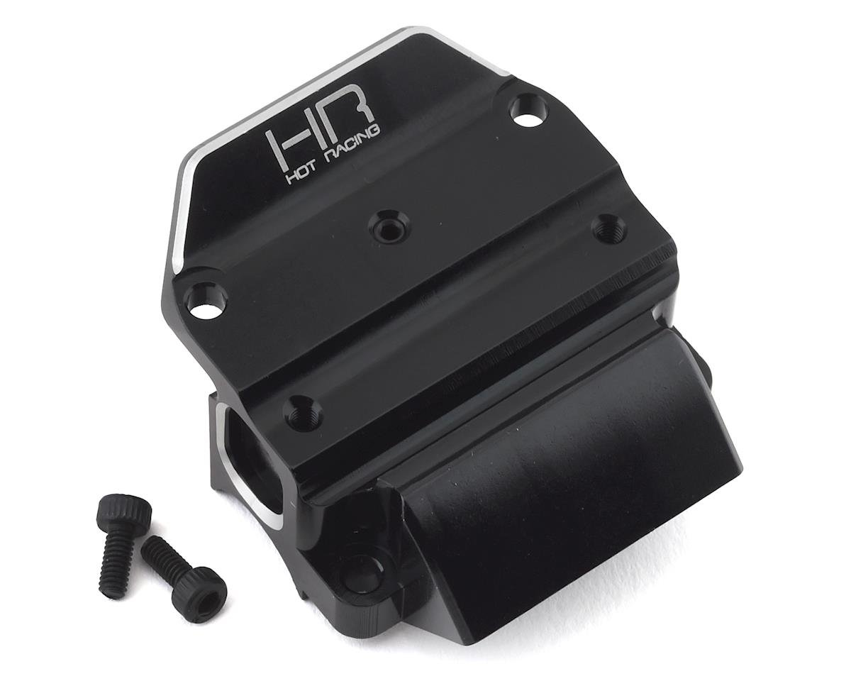 Hot Racing Arrma Outcast 6S BLX Aluminum Gearbox Case Bulkhead Cover (Black)