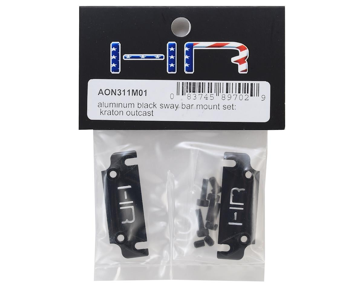 Hot Racing Arrma Kraton Aluminum Center Sway Bar Mounts (Black)
