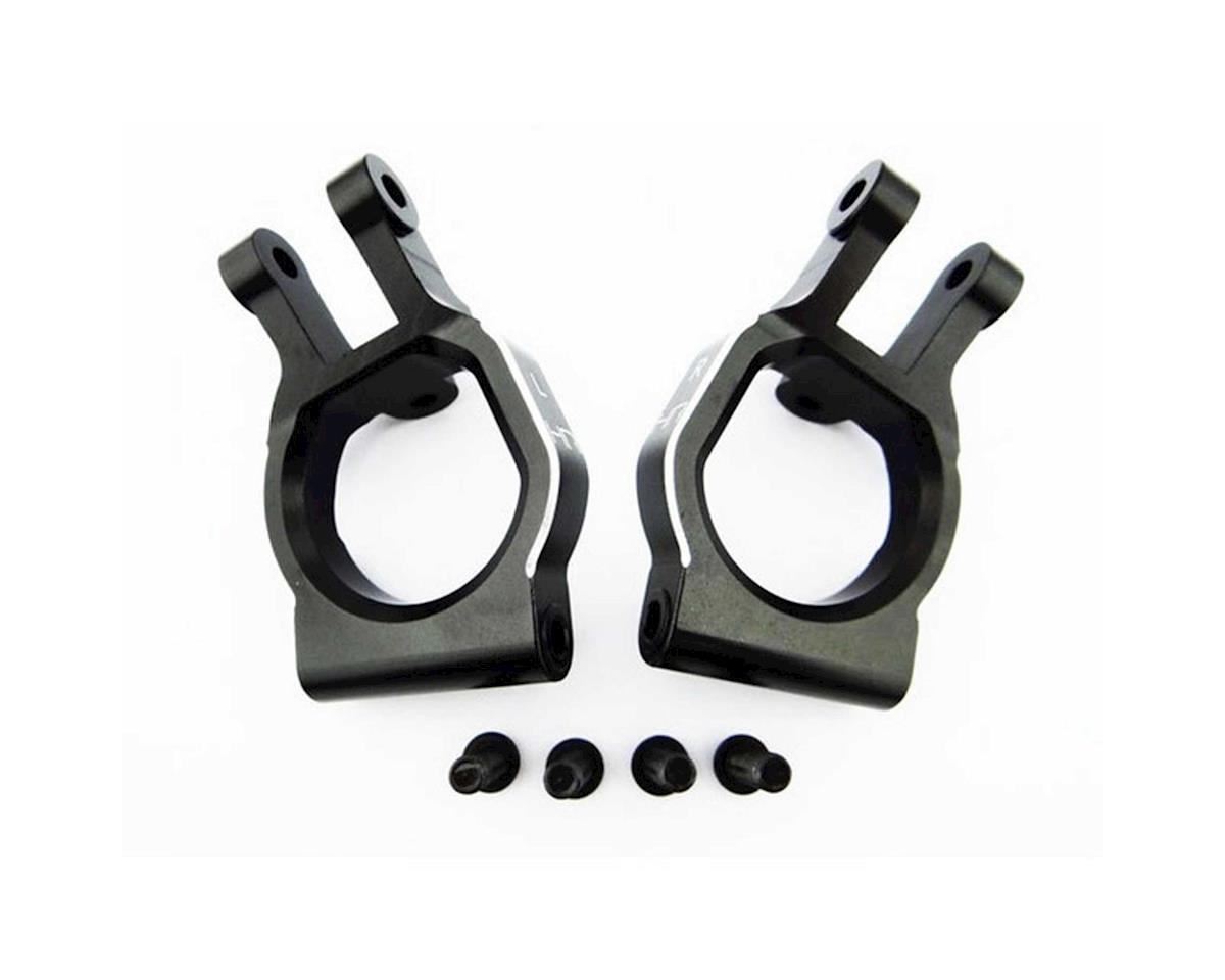 Hot Racing Alum Spindle Carrier Caster Blck Set Desert Bgy