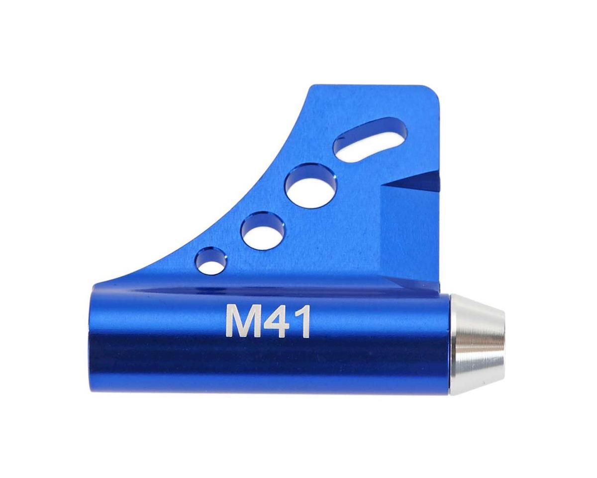 Hot Racing Aluminum Dual 5mm Bearing Drive Strut Blue M41
