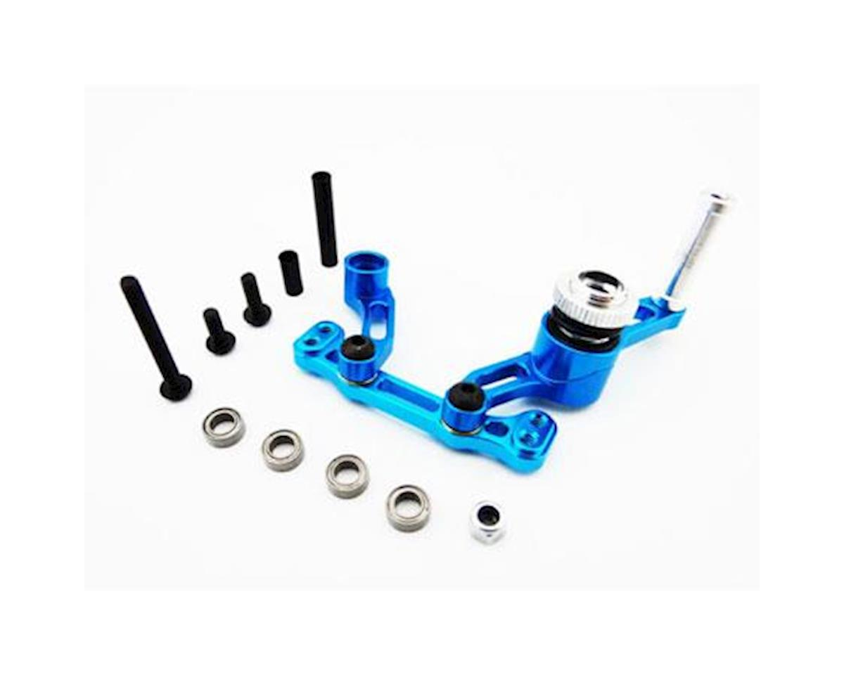 ECX 2WD Aluminum Bearing Steering Saver (Blue) by Hot Racing