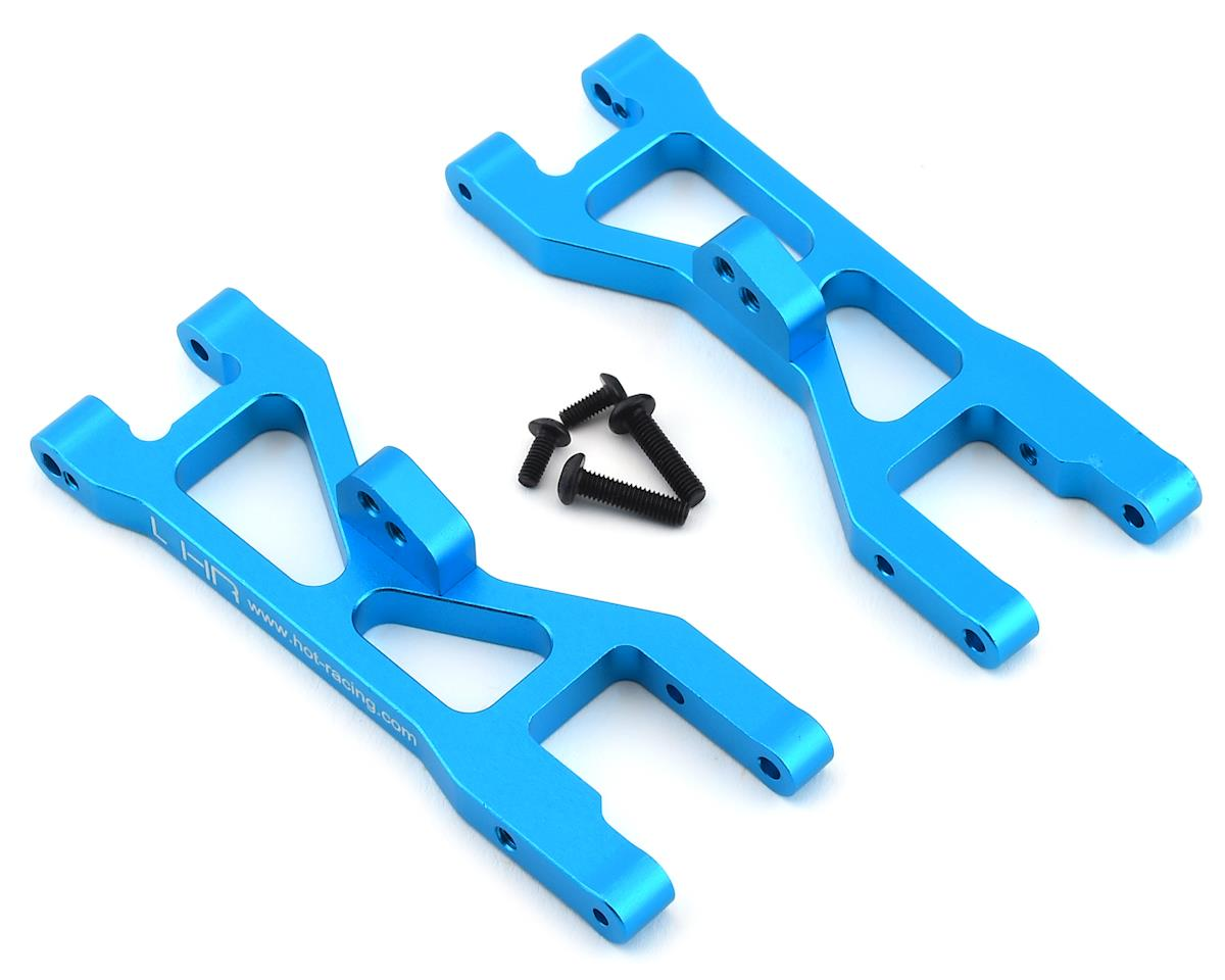 Hot Racing Blue Aluminum Front Arm Set ECX