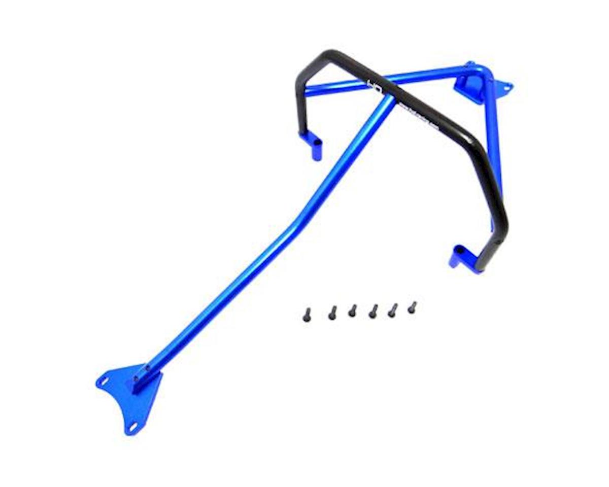 Hot Racing Traxxas Slash 4x4 LCG Aluminum Inner Roll Cage (Blue)