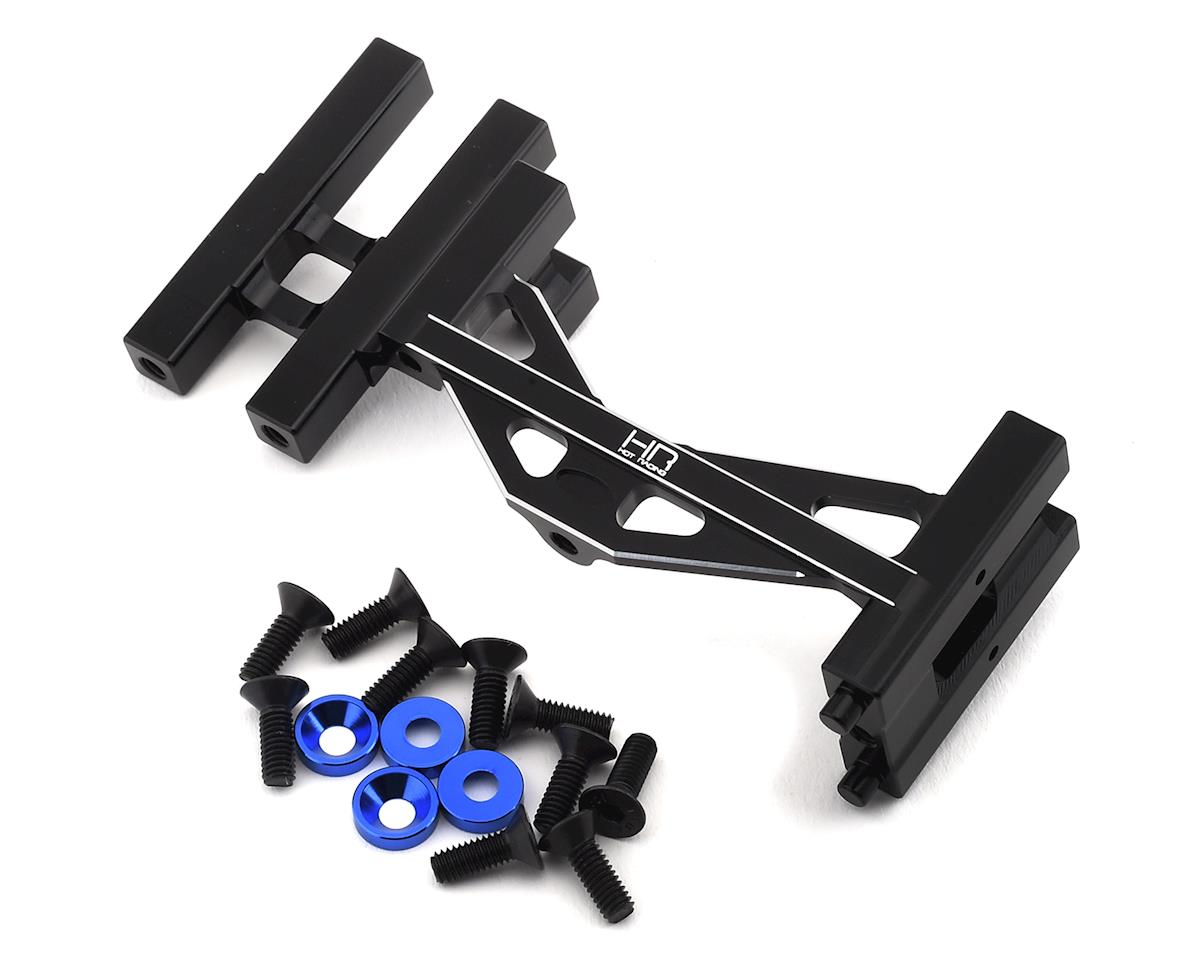 Hot Racing Losi Super Rock Rey Baja Rey/Rock Aluminum Steering Servo Mount (Black)