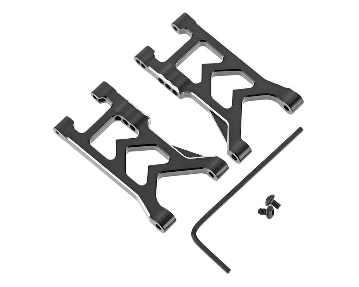 Hot Racing LaTrax Teto Aluminum Lower Suspension Arm Set (Black)