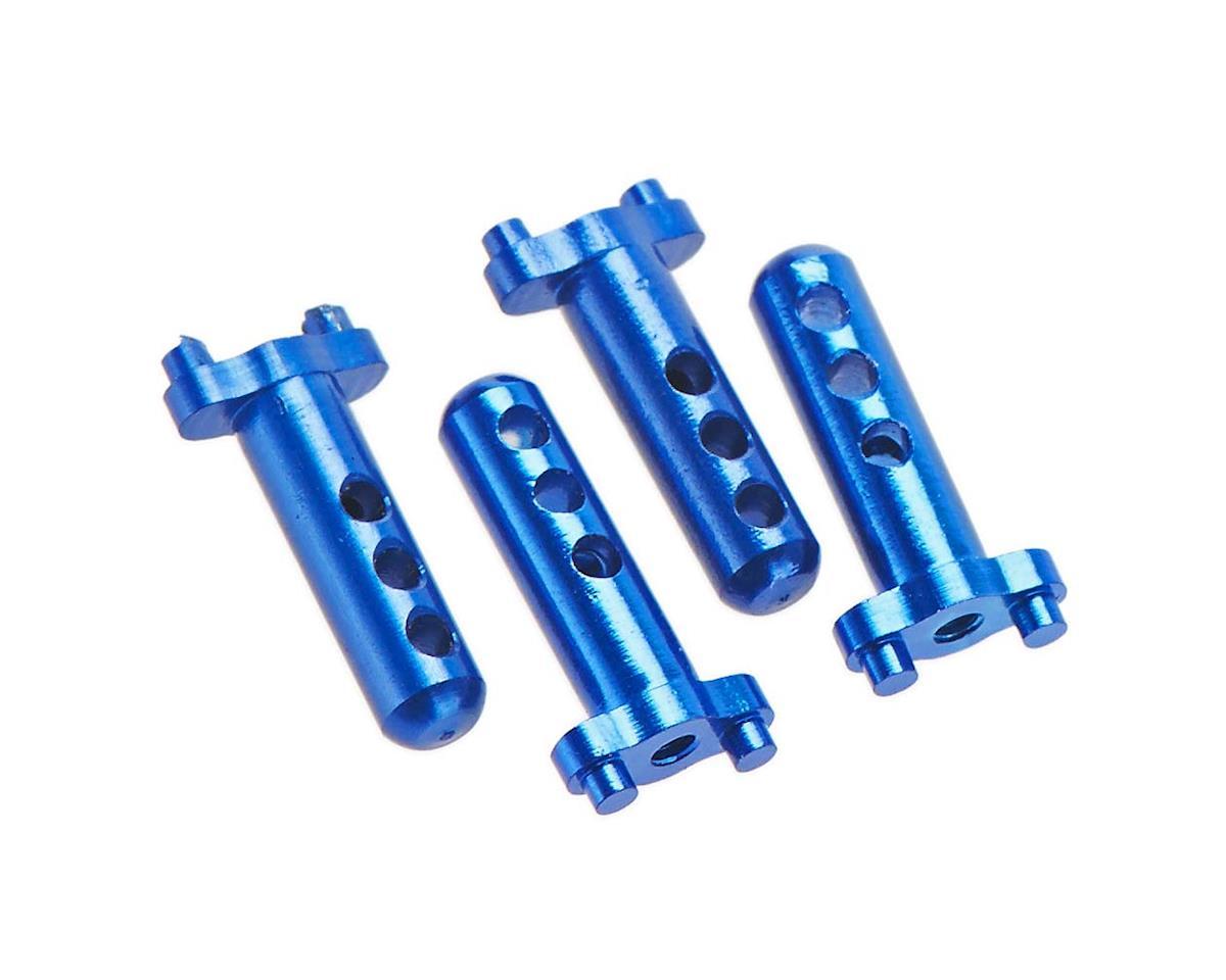 Hot Racing Aluminum Body Posts (4) Blue Losi Micro Crawle