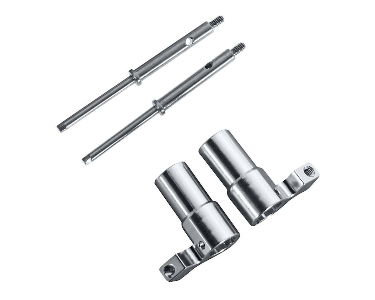 Hot Racing Losi Micro Trekker Aluminum Rear Axle Lock-Out Kit