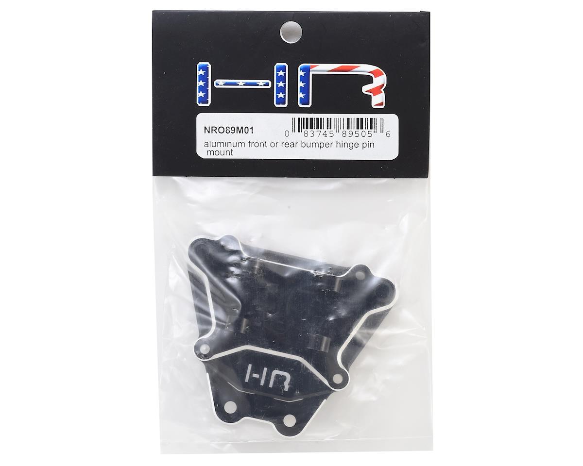 Hot Racing Arrma Nero Aluminum Front/Rear Bumper Mounting Plate (Black)