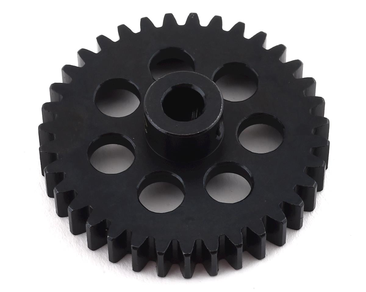 Hot Racing Steel Mod 1 Pinion Gear w/5mm Bore (35T) | alsopurchased
