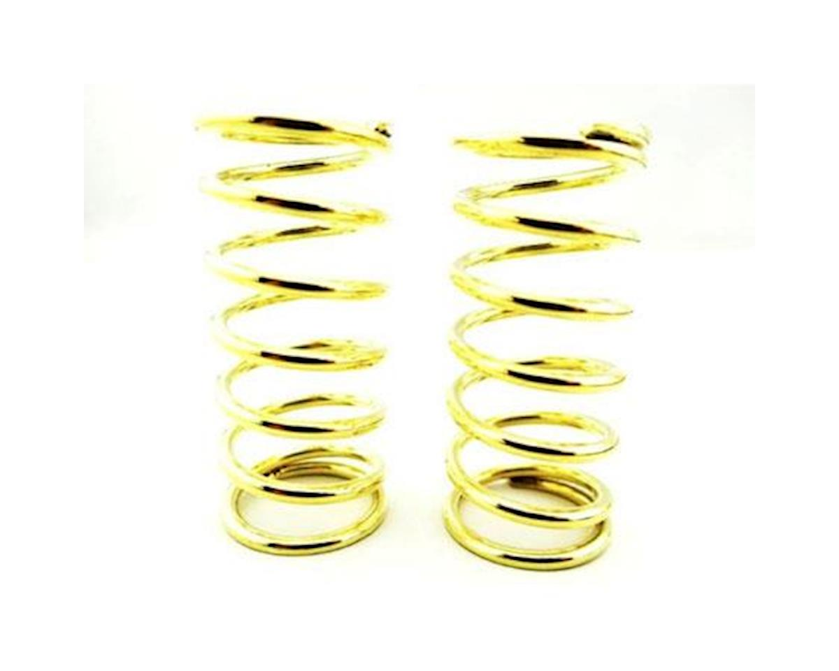 Hot Racing High Lift Springs (2) (19lb/Gold) (Traxxas Slayer)