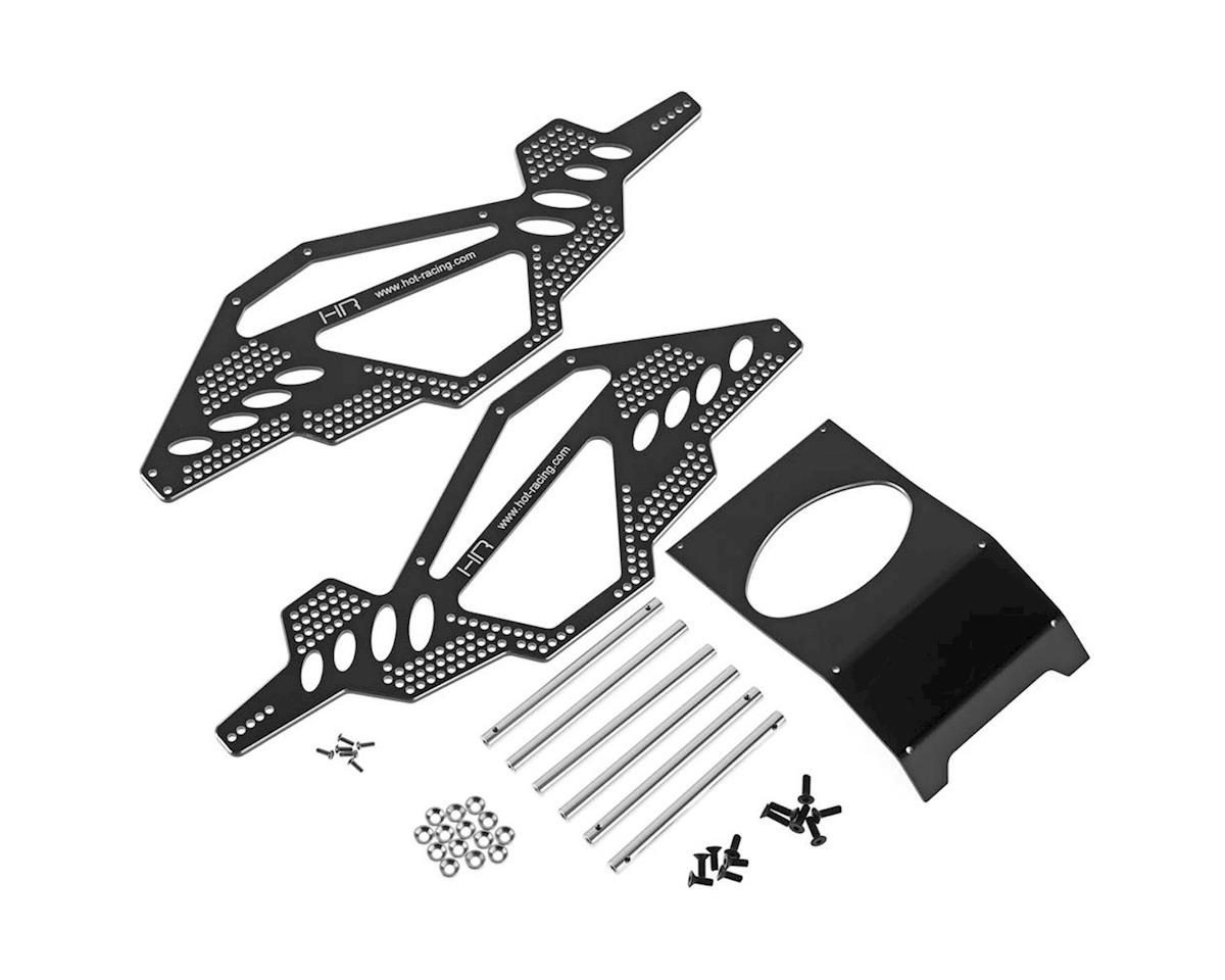 Hot Racing Alum Rock Racer Conversion Chassis Black AX10
