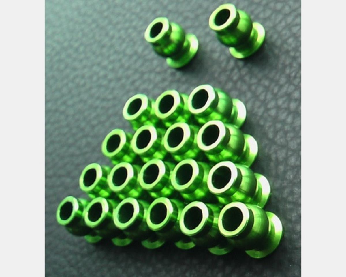 Hot Racing Green Aluminum Suspension Pivot Balls (20)