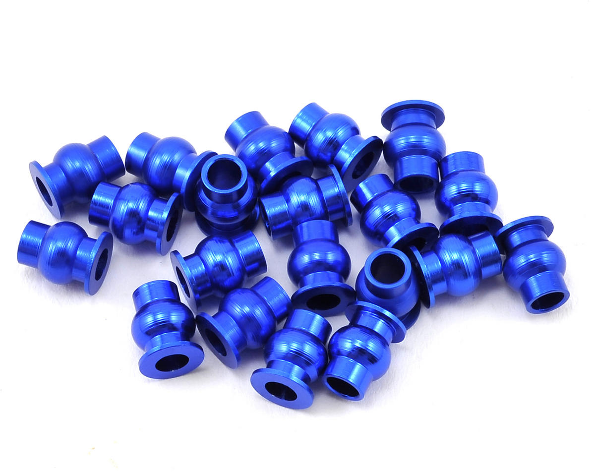 Aluminum Pivot Ball Set (Blue) (20) by Hot Racing