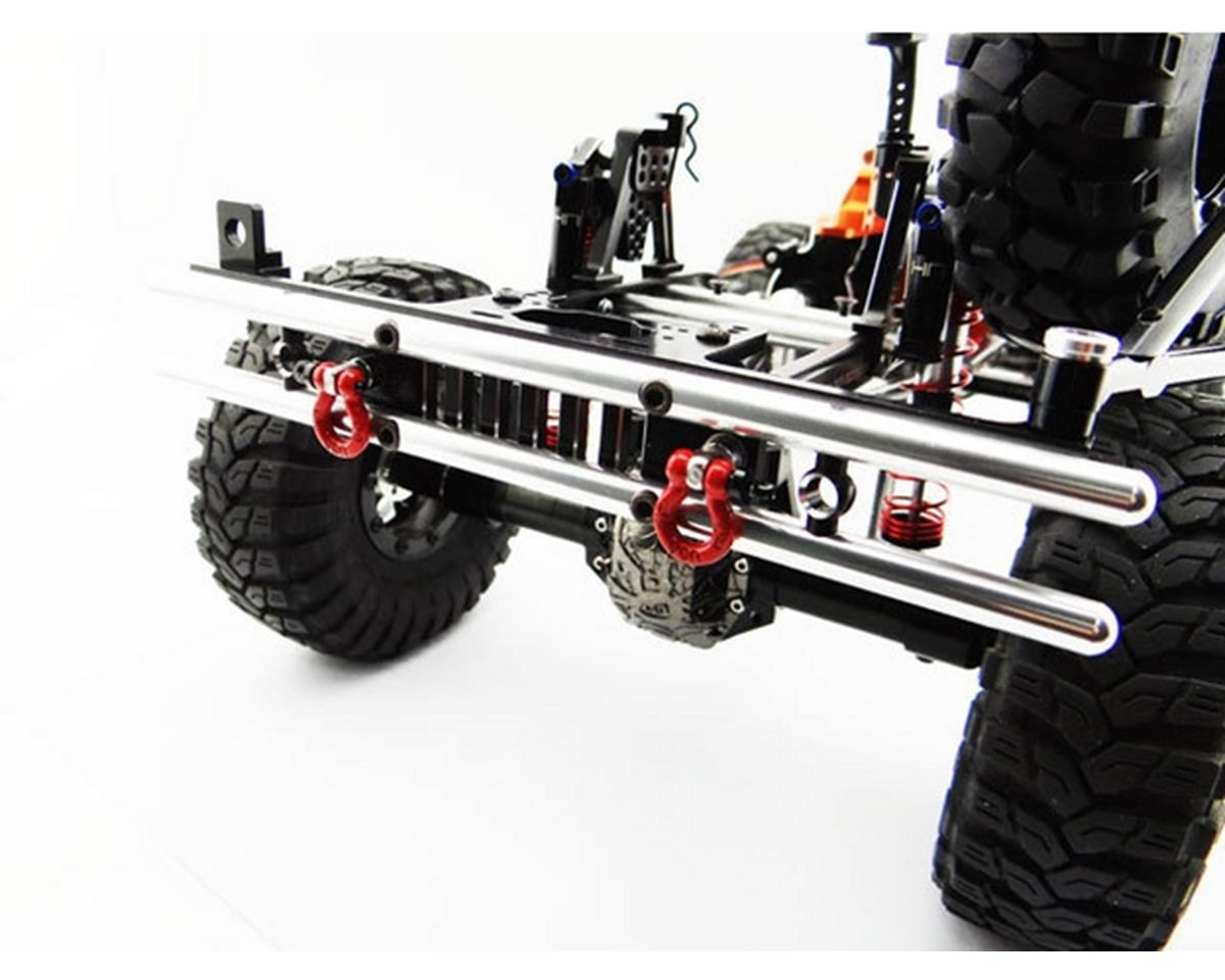 Hot Racing Axial SCX10 II Tubular Rear Bumper w/ Winch & Light Mount