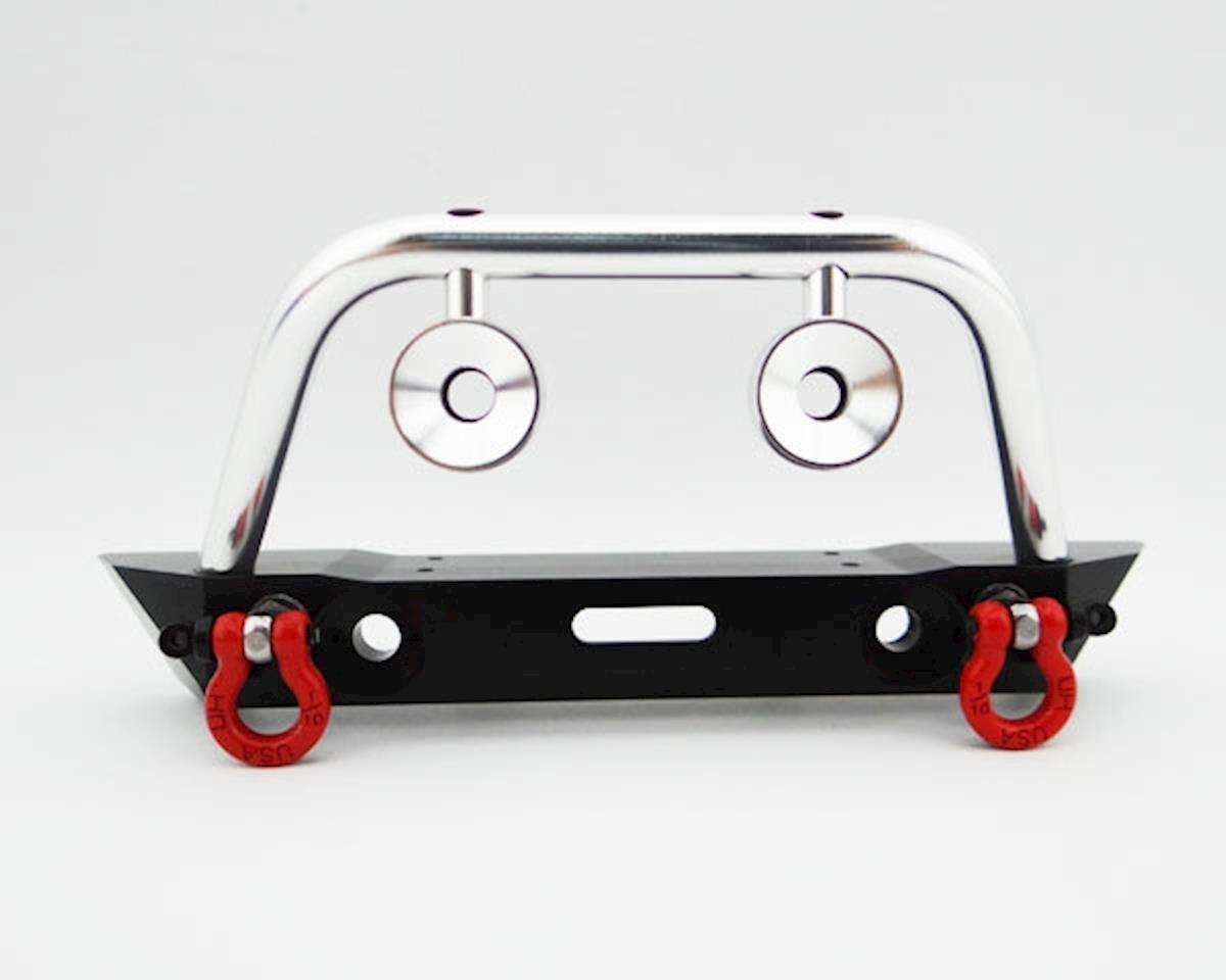 Hot Racing Axial SCX10 Aluminum Front Bumper w/ Winch & Light Mounts