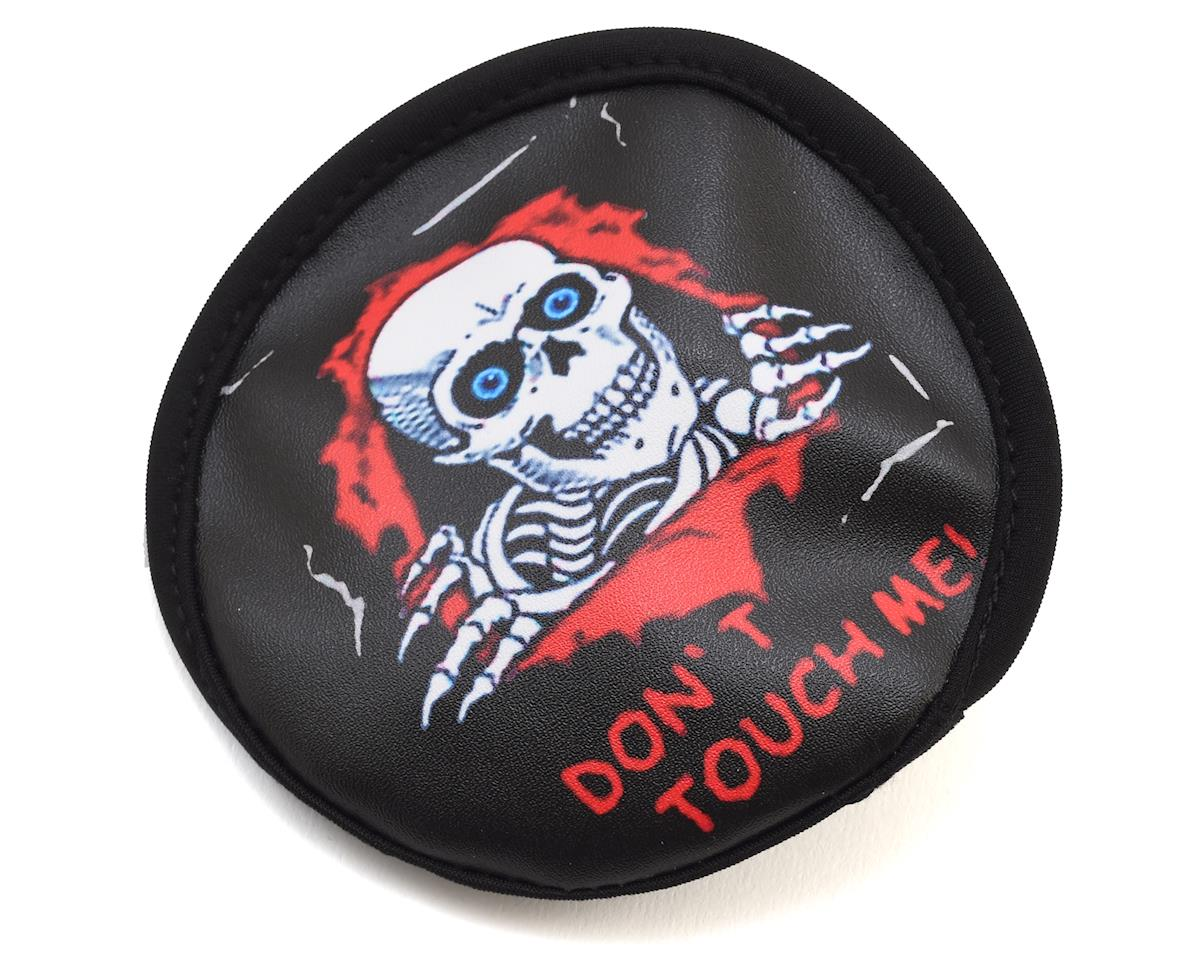 Skull Dont Touch Me Spare Tire Cover by Hot Racing