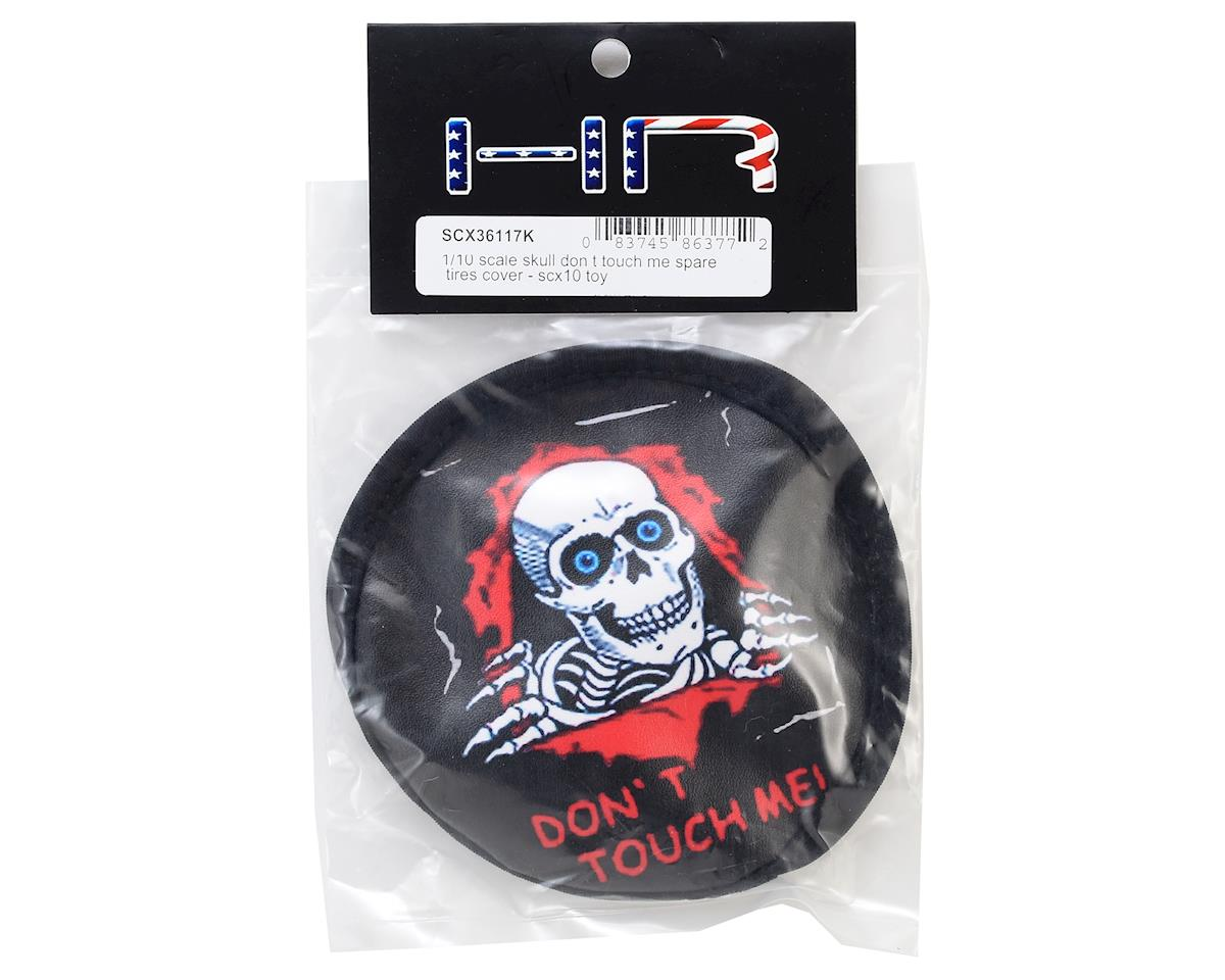 Hot Racing Skull Dont Touch Me Spare Tire Cover