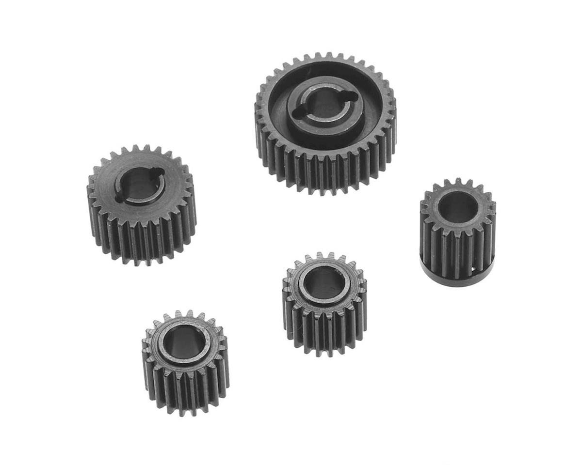 SCX10 II Kit Hardened Steel Gear Set (5) (AXI90046 Kit Only) by Hot Racing