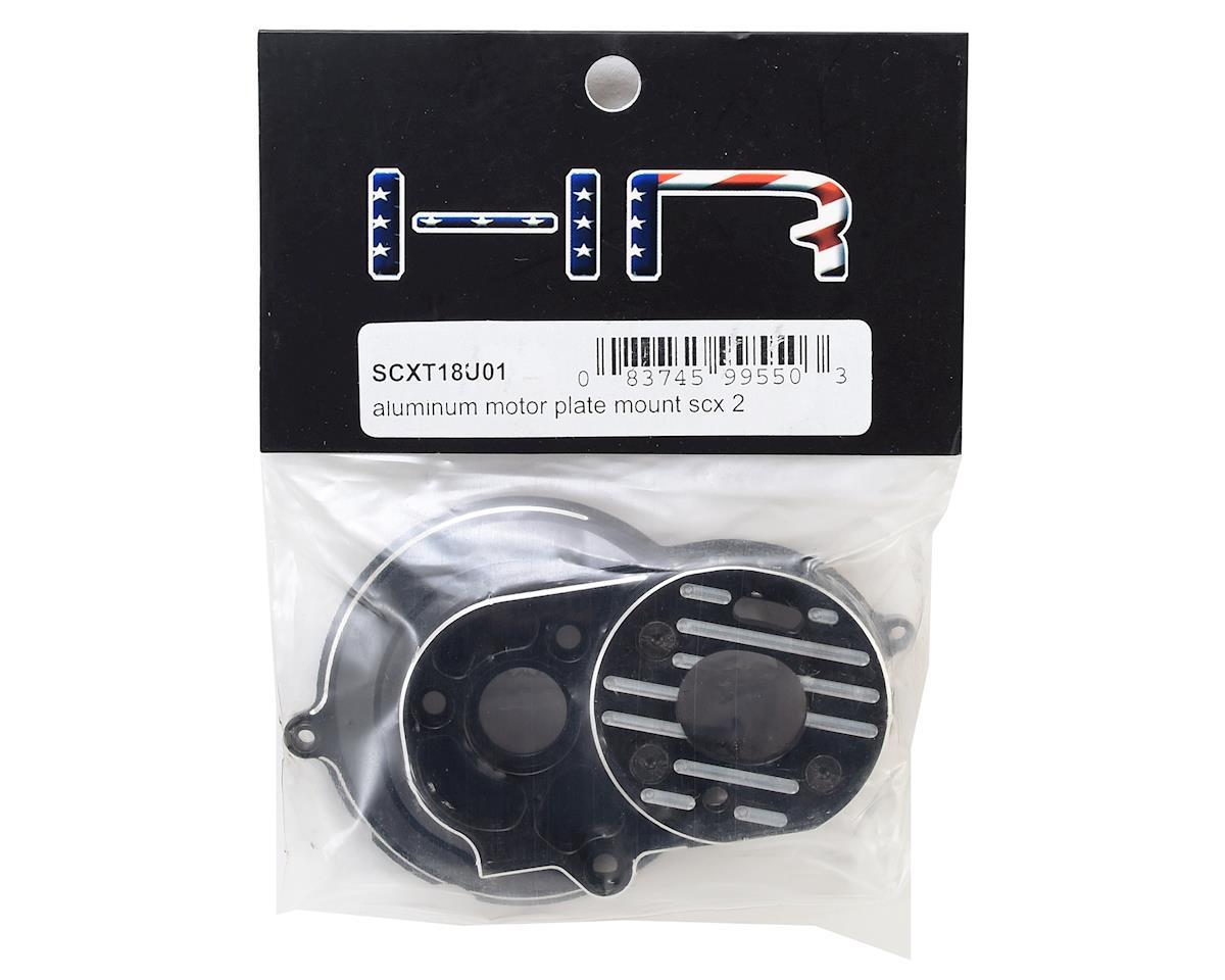 Hot Racing Axial SCX10 II Aluminum Motor Plate Mount (Black)