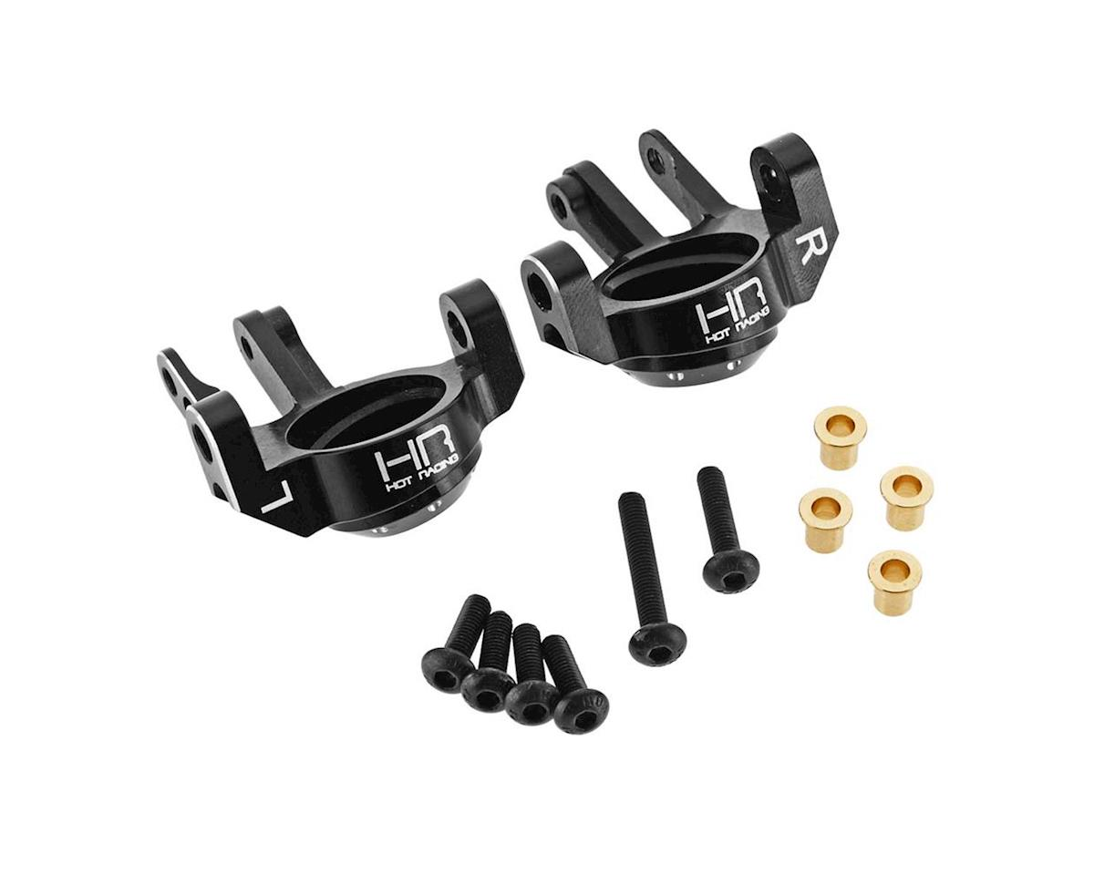 Hot Racing Axial SCX10 II Aluminum AR44 Steering Knuckles (Black)