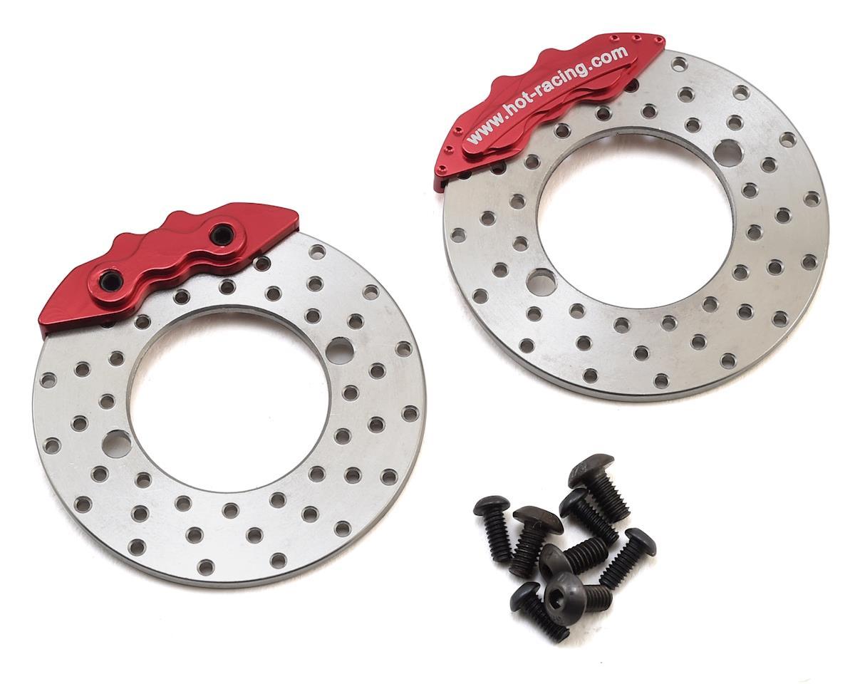 Hot Racing Axial SCX10 II Brake Disc & Caliper