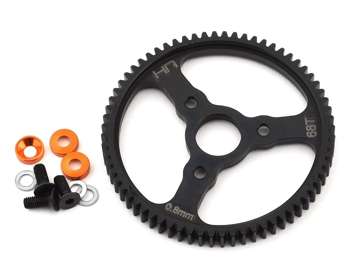 Hot Racing Traxxas 0.8 Mod Steel Spur Gear (68T) (Orange)