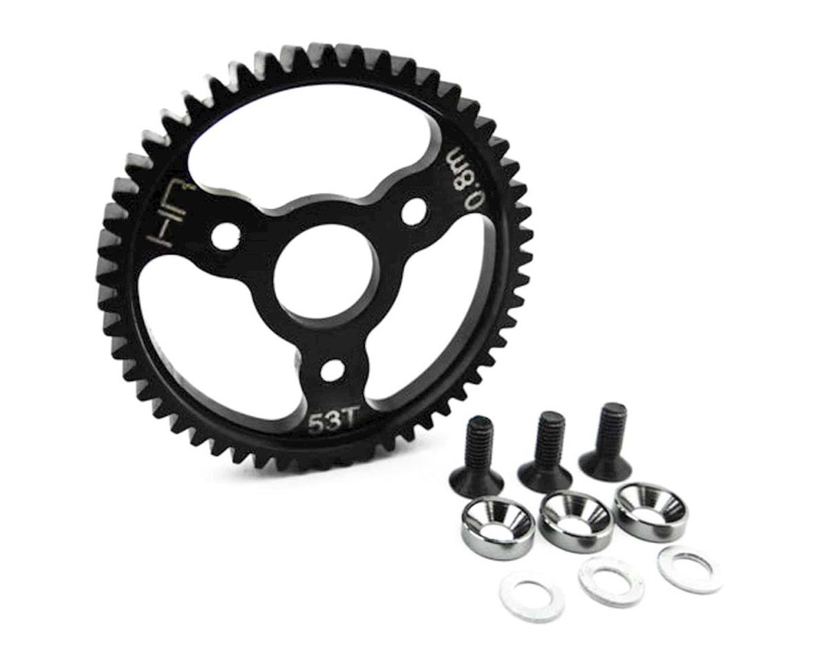 Hot Racing Steel Spur Gear 32P 53T .8 mod Gunmetal