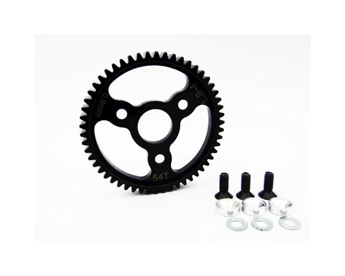 Traxxas Steel 0.8 Mod Spur Gear (54T) (Silver) by Hot Racing