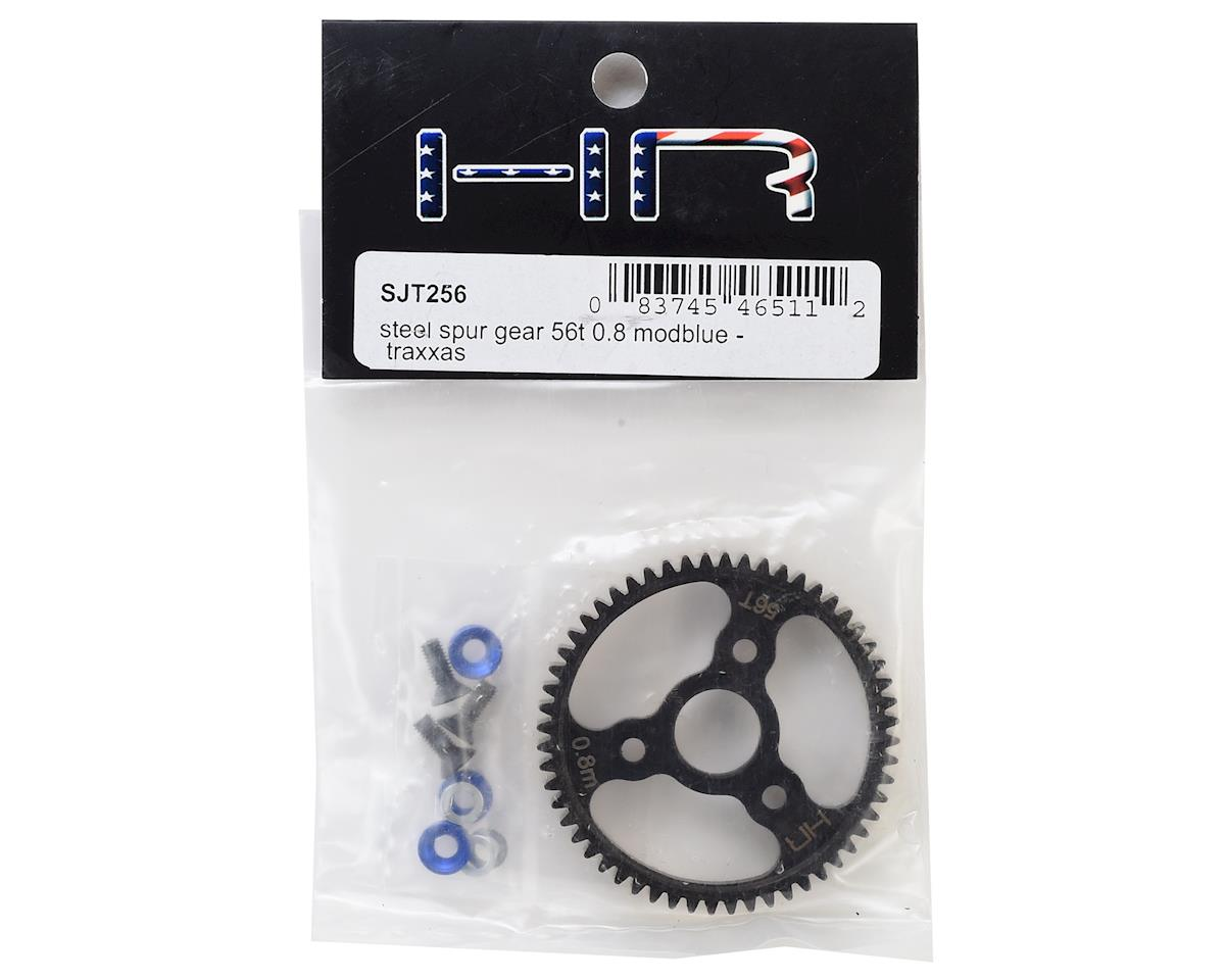 Hot Racing T-Maxx Steel 0.8 Mod Spur Gear (56T) (Blue)