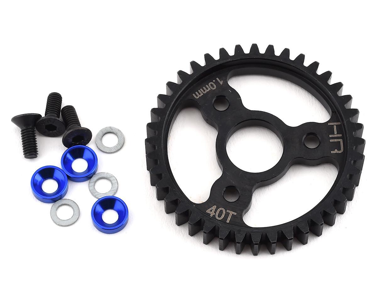 Hot Racing Traxxas MOD1 Steel Spur Gear (Blue) (40T)