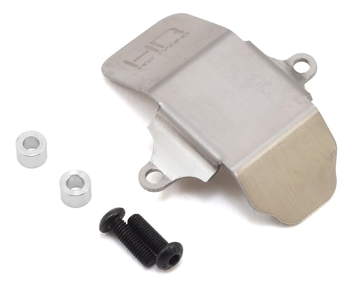 Axial SCX10 II Stainless Armor Skid Plate (Hot Racing Axle Housing) by Hot Racing