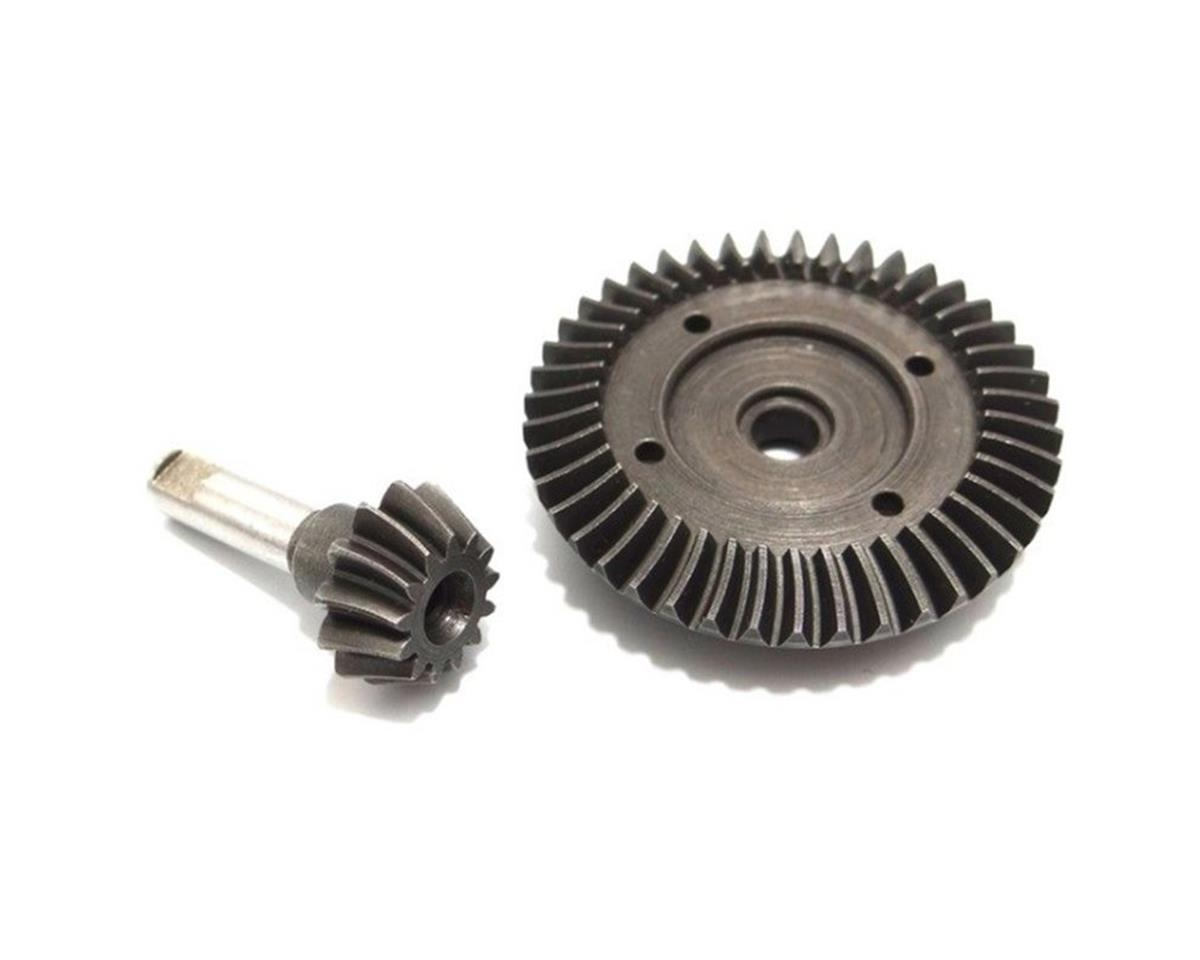 Hot Racing HD Spiral Bevel Underdrive Gear Set (43T/13T) (AX10) (Axial EXO)