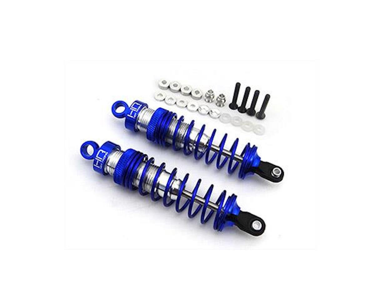 Hot Racing 90mm Aluminum HD Big Bore Shock Set (2) (Traxxas Nitro Rustler)
