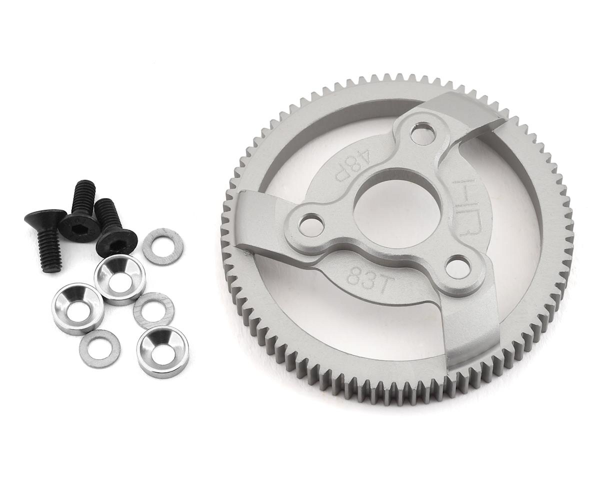 Hot Racing Traxxas 48P Hard Anodized Aluminum Spur Gear (83T)