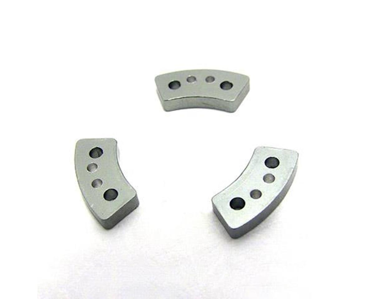 Hot Racing Traxxas Hard Anodized Slipper Clutch Pads (3)