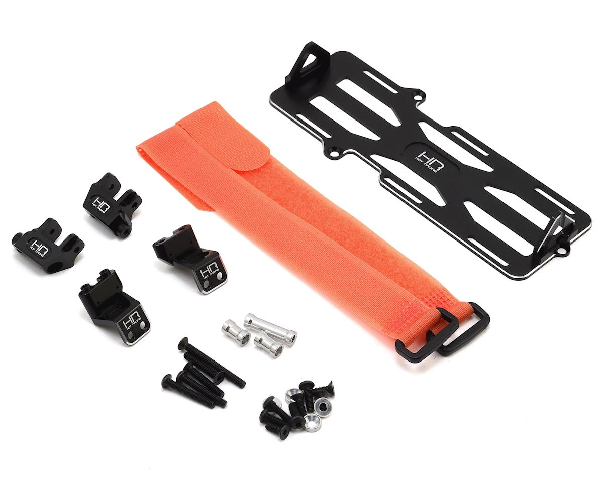 Hot Racing Traxxas TRX-4 Battery & Servo Forward Mount