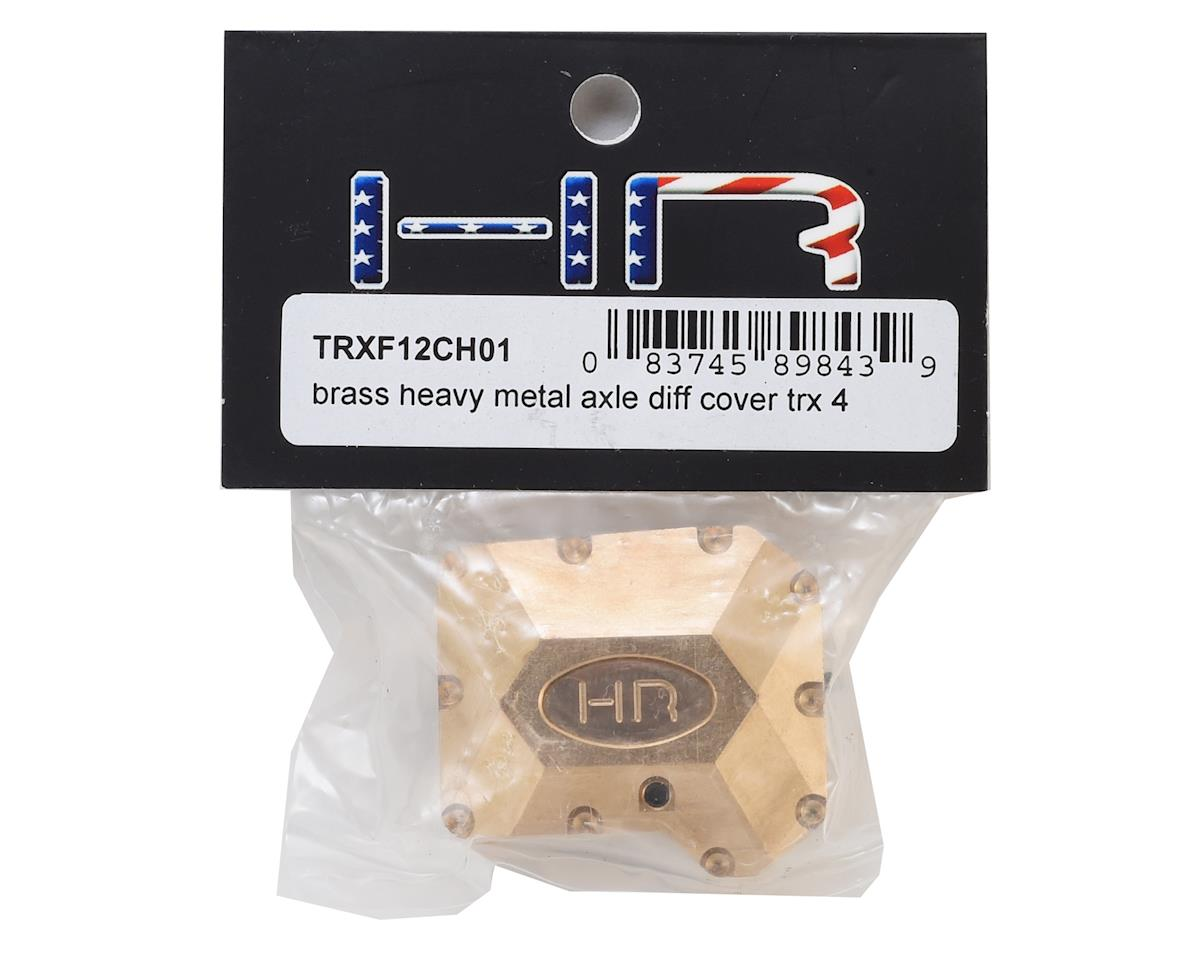 Hot Racing Traxxas TRX-4 Brass Heavy Metal Axle Diff Cover