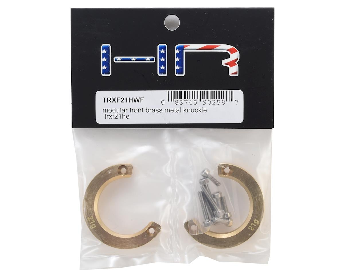 Hot Racing Traxxas TRX-4 Modular Brass Knuckle Weight (2)