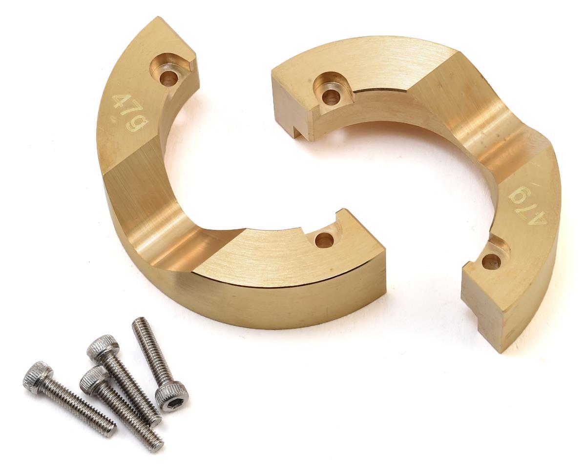 Hot Racing Traxxas TRX-4 Modular Rear Brass Metal Knuckle
