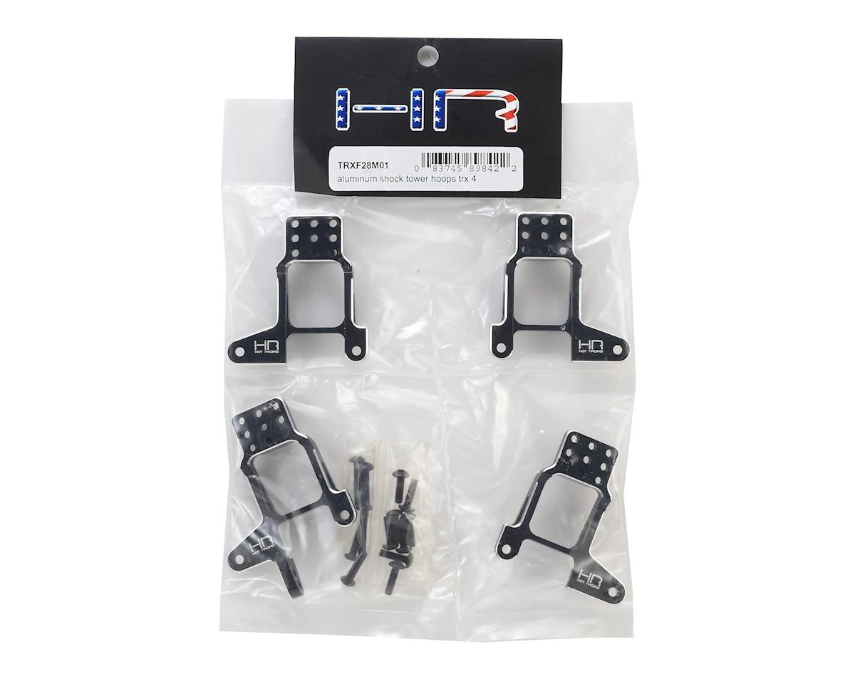 Hot Racing Traxxas TRX-4 Aluminum Shock Tower Hoops (Black)