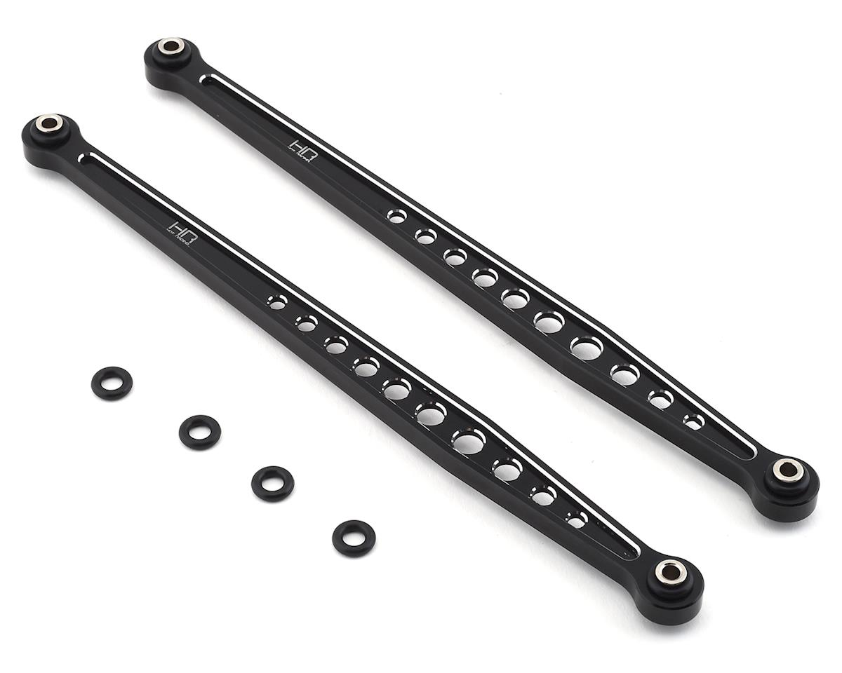 Hot Racing Traxxas Unlimited Desert Racer Aluminum Rear Upper Arms (Black) | alsopurchased