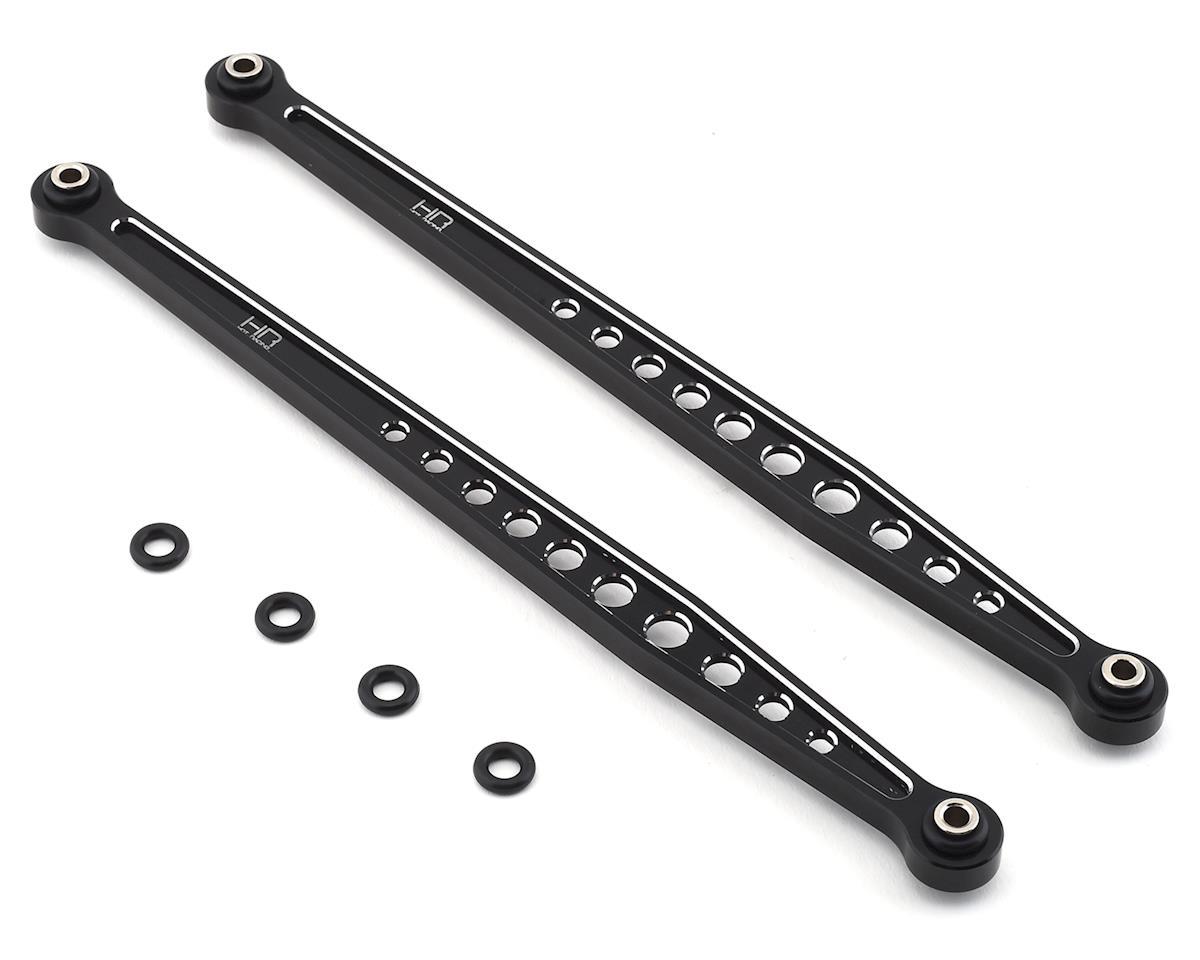 Hot Racing Traxxas Unlimited Desert Racer Aluminum Rear Upper Arms (Black)