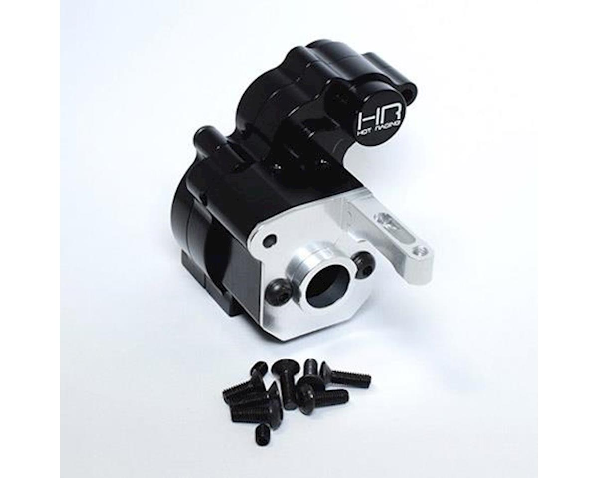 Hot Racing Black Aluminum Center Gear Case Wraith