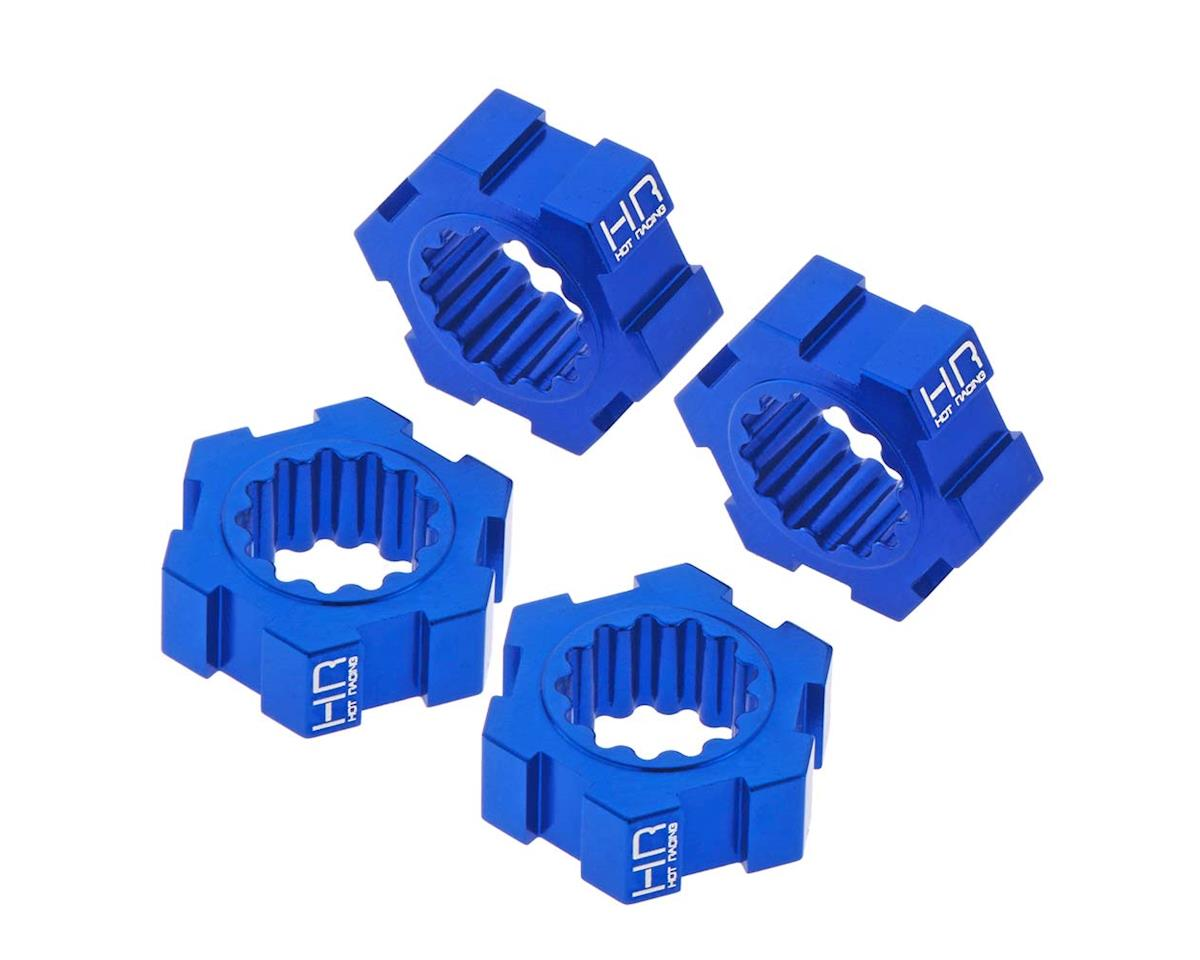 Hot Racing Traxxas X-Maxx Aluminum 24mm Hex Hub (Blue)