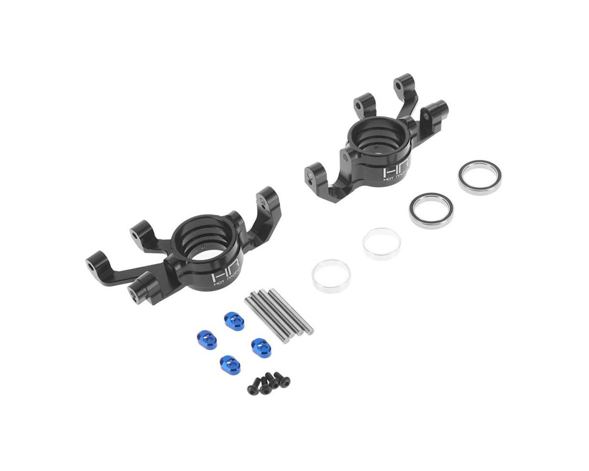 Hot Racing Traxxas X-Maxx Aluminum Steering Blocks (Black)