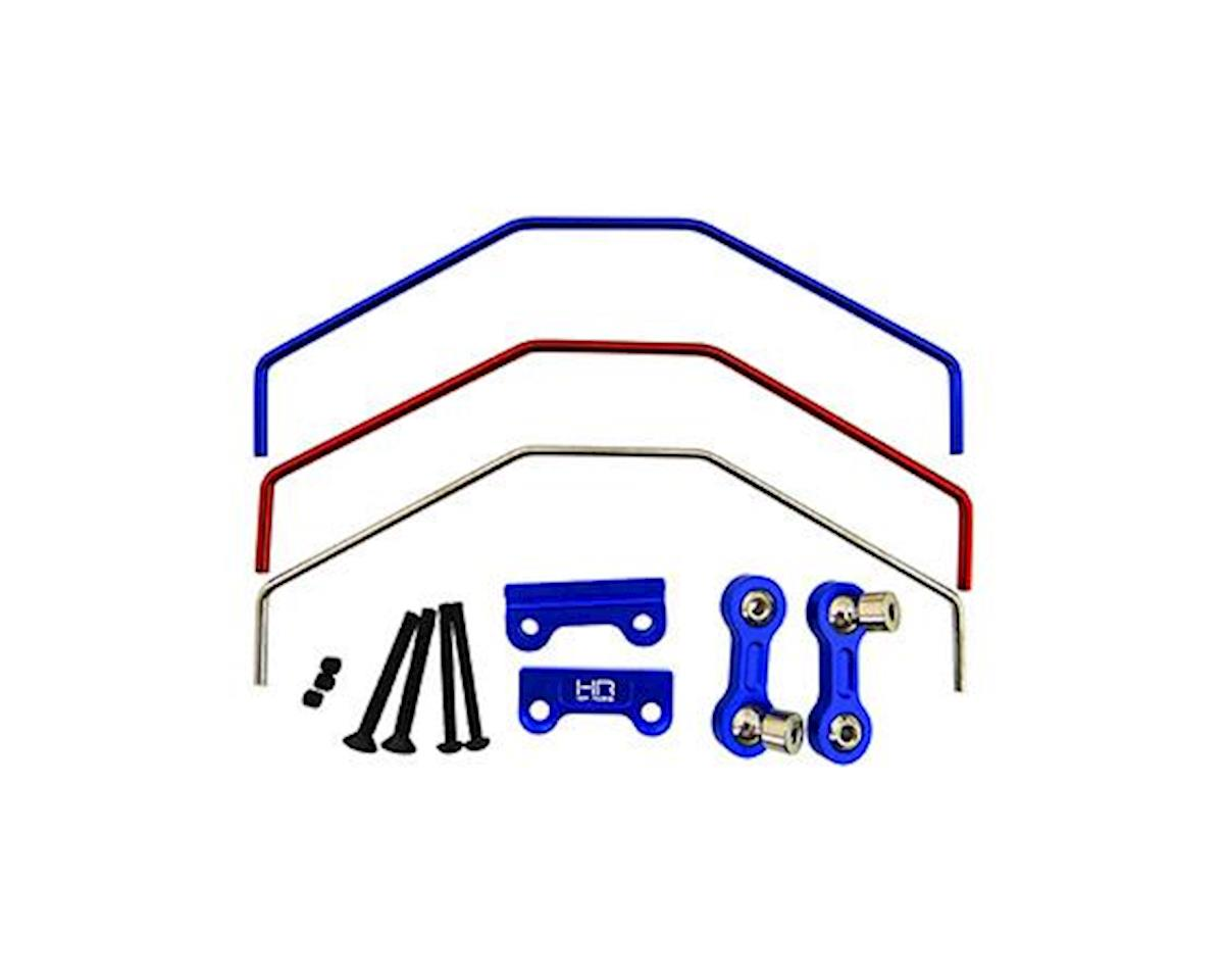 Hot Racing Traxxas X-Maxx Aluminum Front/Rear Sway Bar Set (Blue)