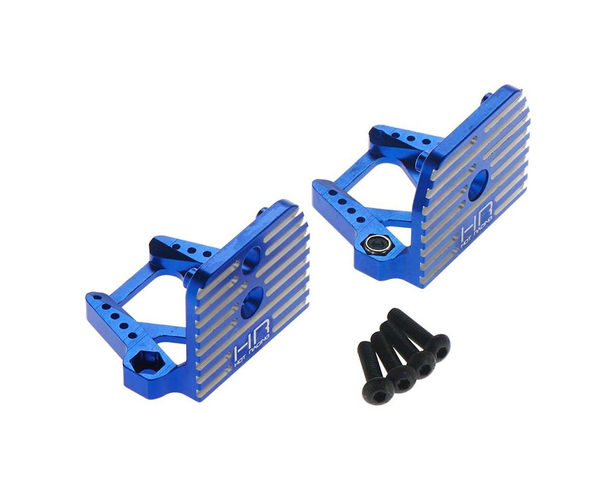 Hot Racing Traxxas X-Maxx Aluminum Motor Mount (Blue)