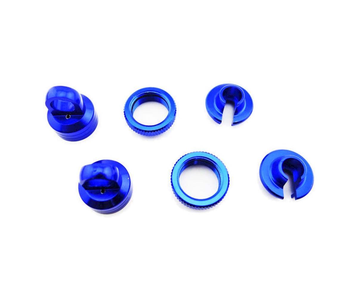 Hot Racing Axial Yeti/Wraith Aluminum 10mm Shock Upgrade Kit (Blue)